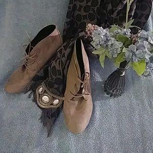 Cute Grey booties